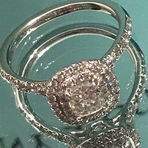 Tiffany & Co. Jewelry - Tiffany and Co engagement ring size 5&1/2